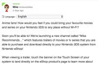 Anime in Vendita su eShop