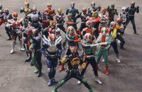 All Kamen Rider Rider Revolution