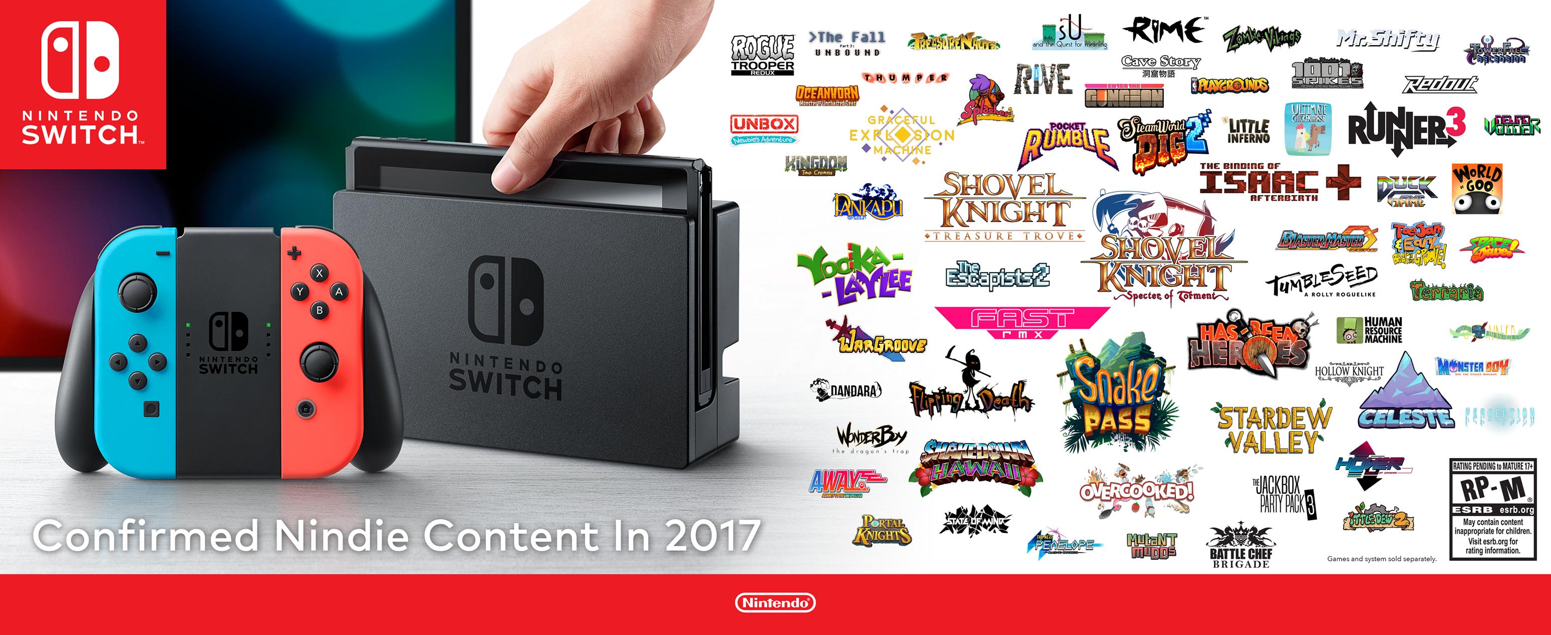 Tutti gli Indie di Nintendo Switch