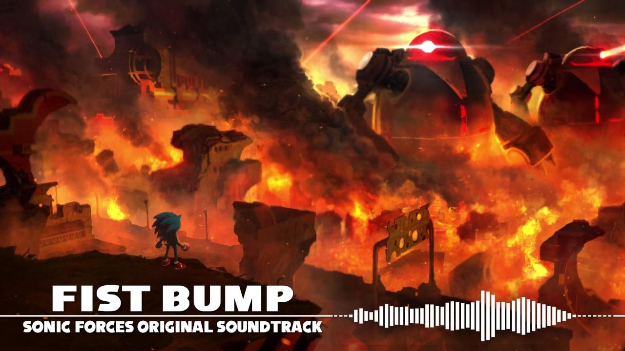 Fist Bump Sonic Forces