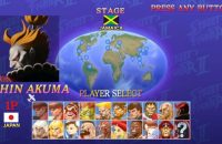 Shin Akuma in Ultra Street Fighter II The Final Challengers Nintendo Switch