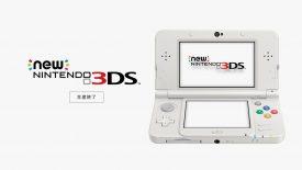 Terminata la Produzione di New Nintendo 3DS in Giappone
