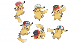 Eventi Pokémon Nintendo 3DS Pokémon Sun Pokémon Moon Sun & Moon cappelli Pikachu MEga Stones Latias Latios Ampharos Altaria Charizard